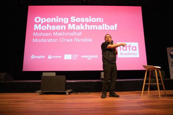 RT-20191121_IDFAcademy Opening Session Mohsen Makhmalbaf-09PhotoByRoosTrommelen